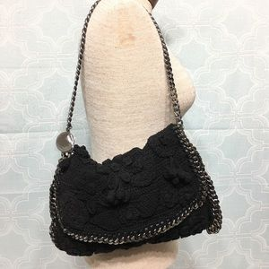 Stella McCartney Falabella Crocheted Shoulder Bag
